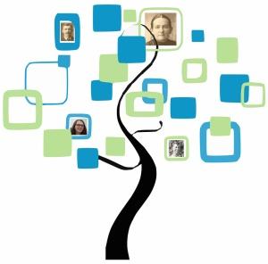 Genealogy Newbie - Family Tree Graphic